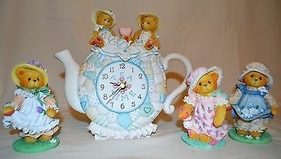 Cherished Teddies Tea Time Collection