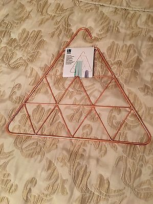 Umbra Pendant Copper Triangle Scarf Holder/Hanger