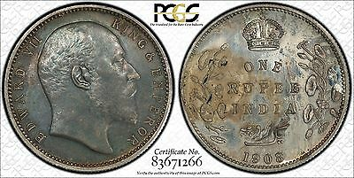 1908 British India Original Proof Set - PCGS Certified
