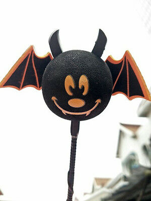 Cute Free Happy Bat Antenna Balls Car Aerial Ball Antenna Topper & Decor Ball