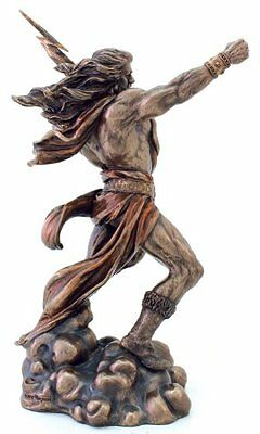 Ancient Greek Statue Zeus Sculpture Olympian God Zamac Gods Myth King Mythology