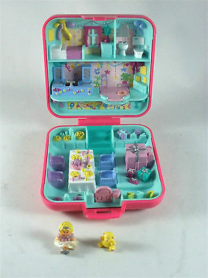 Vintage Bluebird Toys Polly Pocket Party time Surprise Complete Playset