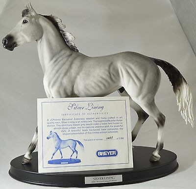 Breyer Silver Lining Resin Porcelain Horse 1469 of 2000 with COA & Original Box
