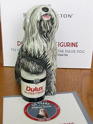 Royal Doulton Dulux Dog Celebrating 50 Years.