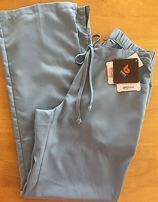 NWT Grey's Anatomy 5 Pocket Light Blue Scrub Pants  Size:XS Junior Fit Pant