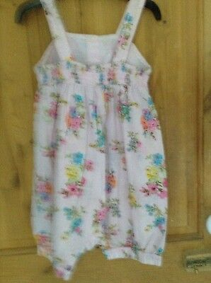 girls playsuit age.3 -4 years from next!  Vintage floral