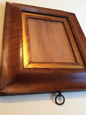 Old vintage small Wide Maple picture/ photo frame