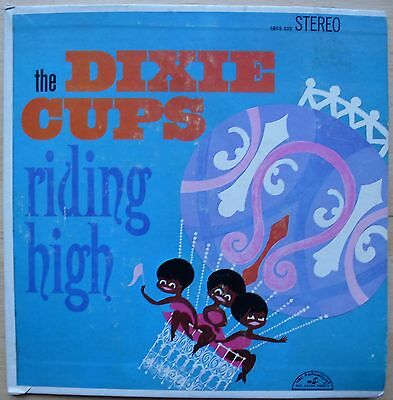 THE DIXIE CUPS – RIDING HIGH – JUKEBOX EP - US ABC 525 (1965) + 3 tabs, 2 covers