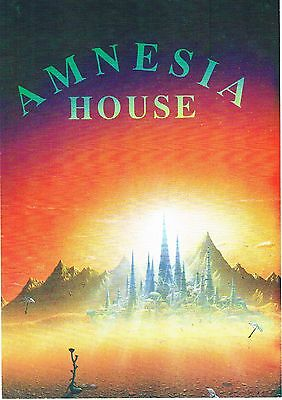 AMNESIA HOUSE Rave Flyer Flyers A5 22/4/92 The Buzz Club Hinckley Leicestershire