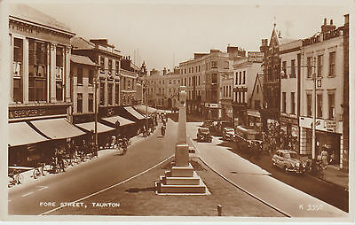 Taunton - Fore Street   -  Real Photo Postcard # Rp