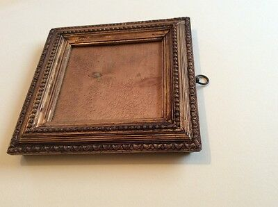 Old vintage small decorative picture/ photo gilded frame