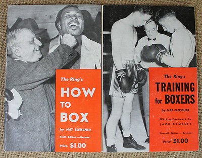 VTG The Ring's Traing for Boxers & How to Box - Nat Fleischer Jack Dempsey Intro