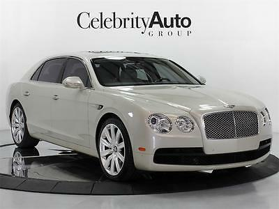 2015 Bentley Flying Spur V8 White Sand 2015 BENTLEY FLYING SPUR V8