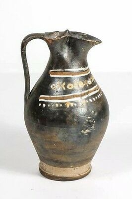 Greek pottery Gnathian-ware trefoil oinochoe