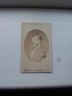 CDV Of Ernest Meissonier 1815-1891 French Classicist Painter And Sculptor.