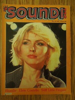 Finnish Soundi Magazine 10/1979 Blondie on cover