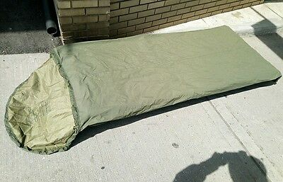Mustang Genuine Canadian Forces Gore-Tex BIVY Bag Sleeping Bag Excellent