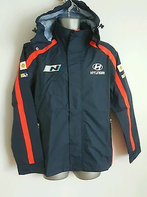 Hyundai Lightweight Jacket WRC Motorsport Coat   / jacket   size M
