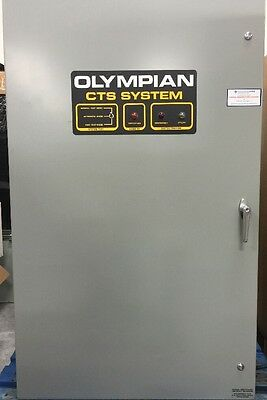 Olympian CTS System Automatic Transfer Switch 96A01406-W 300A 250V Max