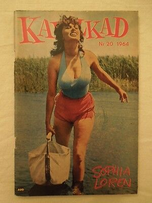 Swedish Kavalkad Magazine 20/1964 Sophia Loren on cover