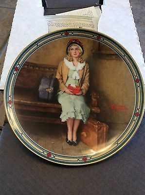 Norman Rockwell Collector Plate Bradex #84-R70-7.1 A Young Girls Dream 1985