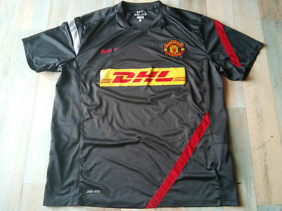 Maillot FOOT NIKE MANCHESTER UNITED DHL TAILLE/XL/D7 TBE