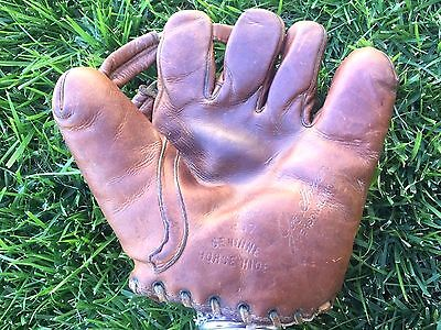 Marathon Sporting Goods Joe Gordon Buckle Back Baseball Glove Vintage RHT