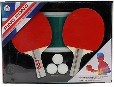 W'TOY 37789 Ping Pong Set Toy With Net/3 Balls
