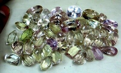 AAA+ Super Top Quality 800cts (55p) Natural Mix Kunzite gemstones NR $