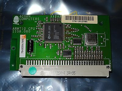 Acorn Arm 710 Cpu Processor Card For The Risc Pc