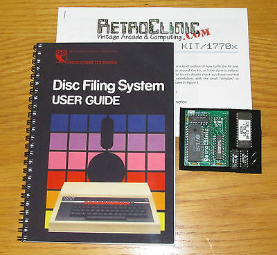 Acorn Bbc Micro 1770 Disc Upgrade Kit With Acorn 1770 Dfs 2.26 & Printed Manual