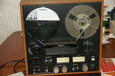 Sony TC-399 Reel to Reel Tape Recorder Deck