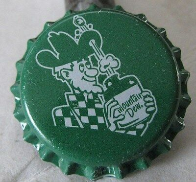 Unused Mountain Dew Dewshine Soda Bottle Cap