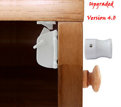 Magnetic Drawer/Cabinet locks for baby safety 8+2Pcs - Child Proofing-No tools