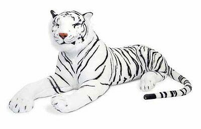 Large Giant Siberian Bengal Wild Tiger Soft Plush Stuffed Cuddly Toy 90-130cm