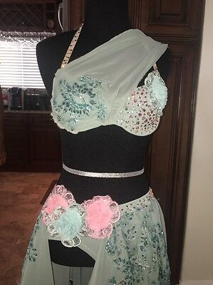 Beautiful Custom Made Lyrical Dance Costume
