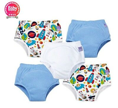 Bambino Mio Miosoft Reusable Training Pants for Boys 5 Pack Size 2-3 Years