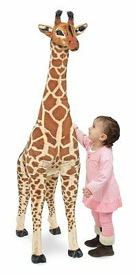 Large Giant Giraffe Lifelike Stuffed Animal Soft Plush Stuffed Cuddly Toy Kids