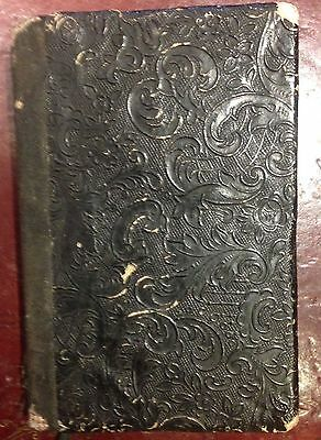 An Antique Handwritten Book. Dated And Signed 1865