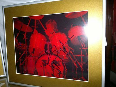 Roger Taylor Queen  8X10 Signed  Guaranteed For Authentication Psa Epperson Jsa