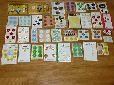 VERY NICE Vintage New Old Stock.... Sewing Buttons