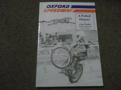 Rare A Potted History Of Oxford Speedway 1939 - 1990 By Glynn Shailes