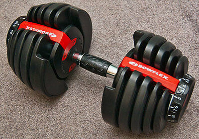 bowflex, dumbbells, new, 552, Adjustable, black, exercise, fitness