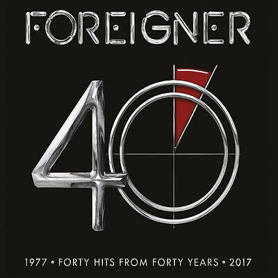 Foreigner - 40 Greatest Hits 2x vinyl LP IN STOCK NEW/SEALED Best Of