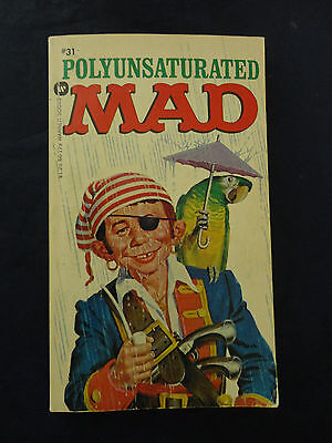 Polyunsaturated Mad Warner Comic Strip Book Vintage Used