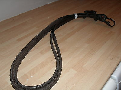 "Windsor Rubber Reins All Sizes Black Or Havana "" Very"" Best  Prices  On Ebay."