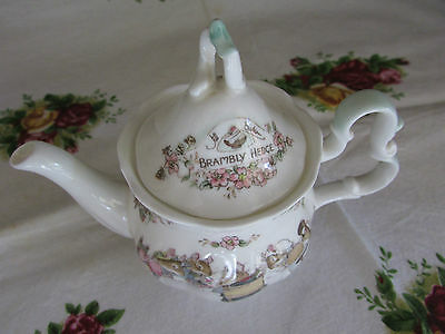 Royal Doulton Brambly Hedge Miniature Tea Pot