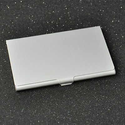 Stainless Steel Business Card Holder Case Fits In Wallet