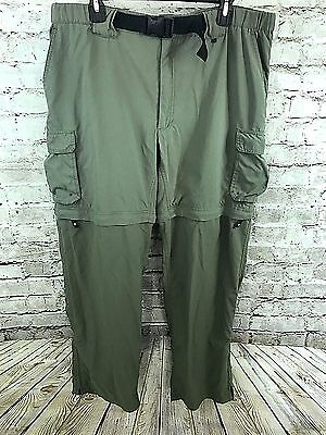 """Boy Scouts Of America Switchback Pants Mens Size 32"""" / Large Zip Off Leg Shorts"""