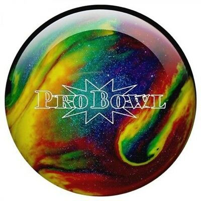 Pro Bowl Purple/Blue/Yellow Sparkle Polyester Bowling Ball